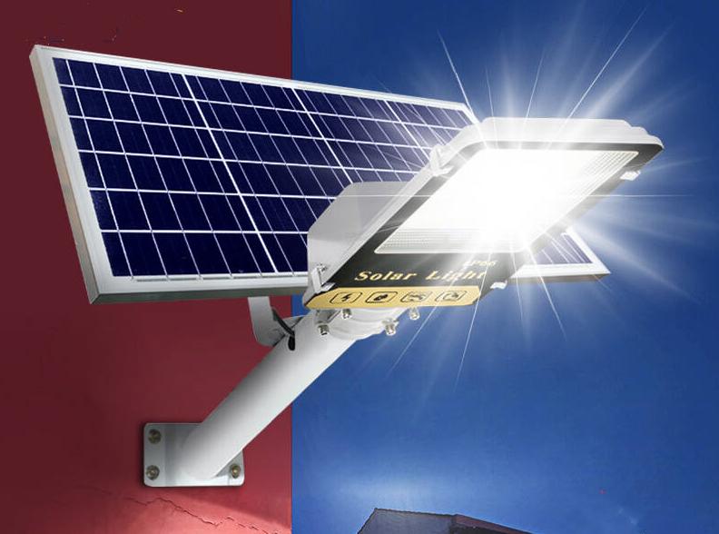 好的家家用遙控自動亮超亮防水挑臂太陽能路燈