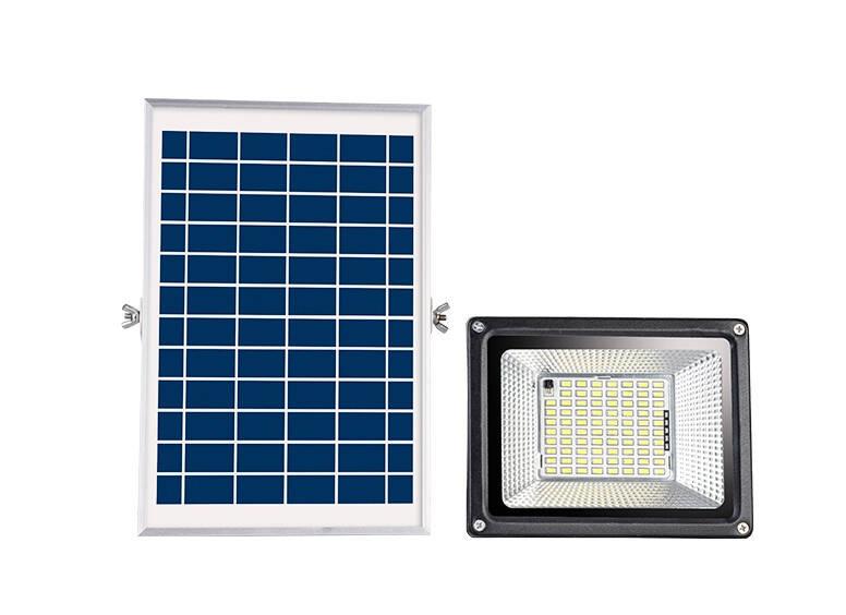 爍室LED室外一拖一、一拖二泛光燈光感應太陽能燈路燈
