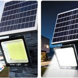 户外大功率一拖二超亮太阳能一体式路灯