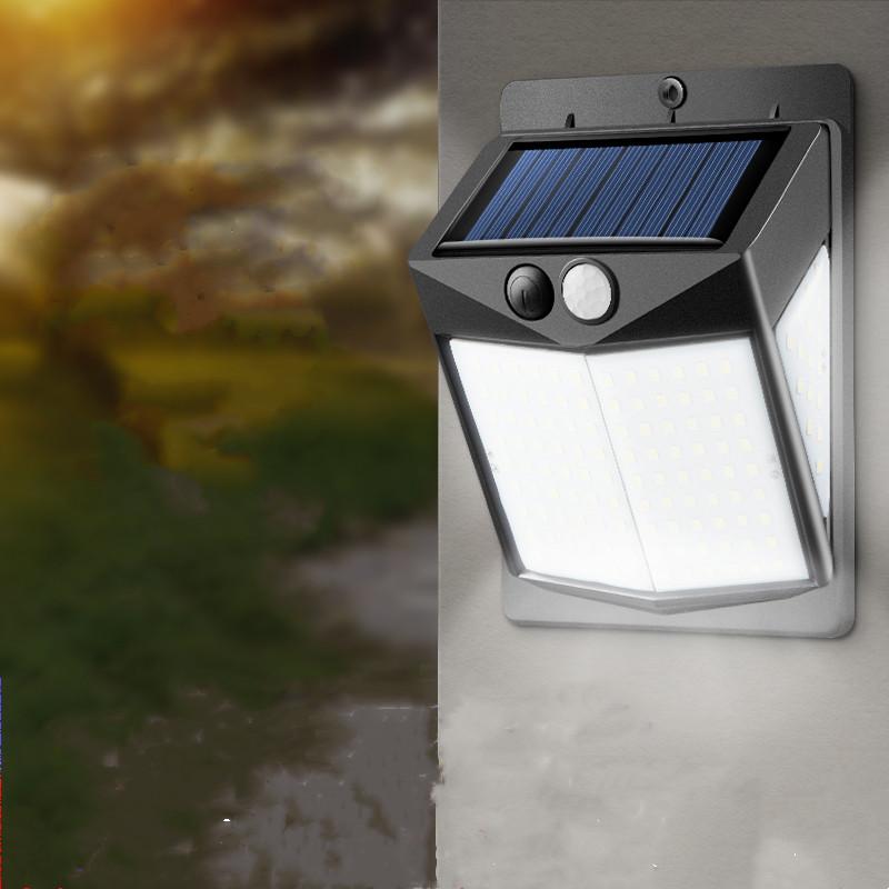 戶外超亮人體感應LED太陽能路燈