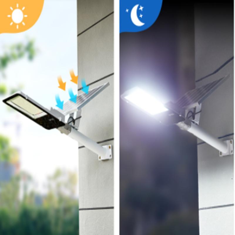 戶外大功率超亮防水感應led太陽能路燈