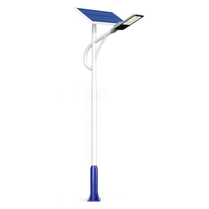戶外燈超亮帶燈桿全套LED太陽能路燈