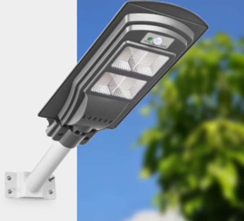 户外超亮大功率led人体感应太阳能路灯
