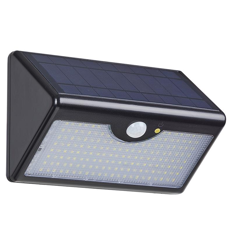 户外超亮壁灯防水人体感应太阳能路灯