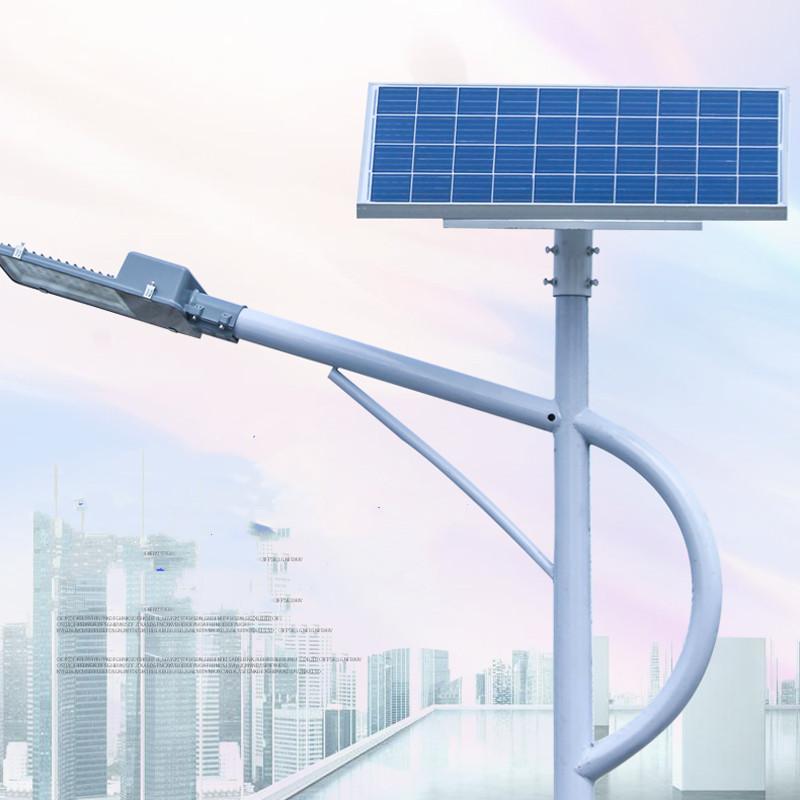 戶外5米6米超亮LED鋰電池太陽能高桿燈