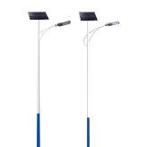 户外6米锂电超亮大功率LED太阳能高杆灯