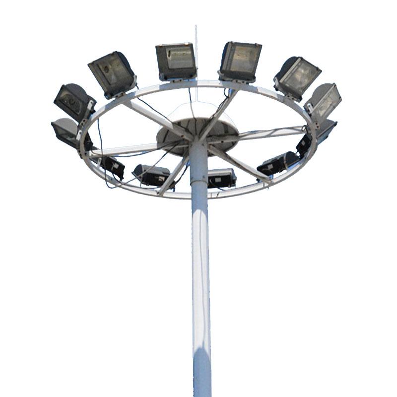 戶外升降式LED10米15米防水超亮高桿燈