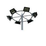 户外球场专用6米15米防水超亮led高杆灯
