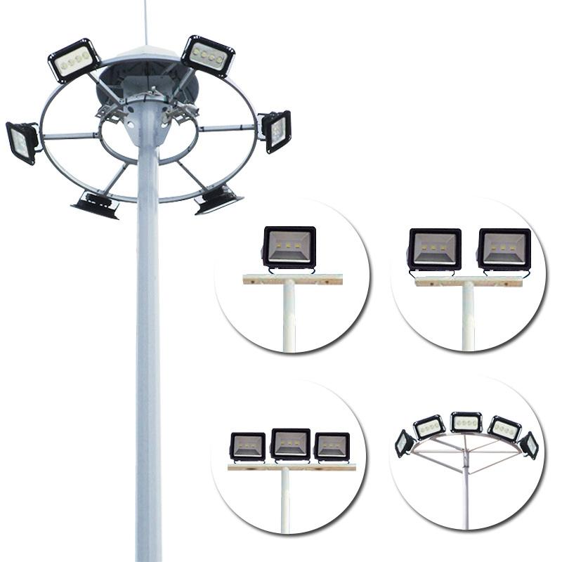 定制户外LED防水球场高杆灯