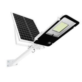 户外挑臂壁灯光控智能led太阳能遥控路灯